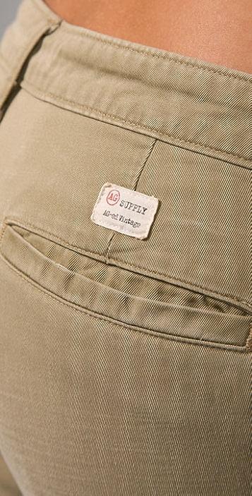 AG Ex Boyfriend Khaki Pants