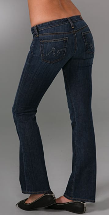 AG Lightweight Angelina Petite Boot Cut Jeans