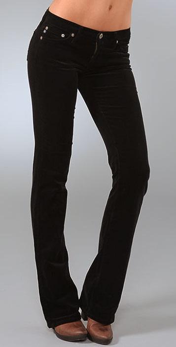 AG Angel Boot Cut Corduroy Pants