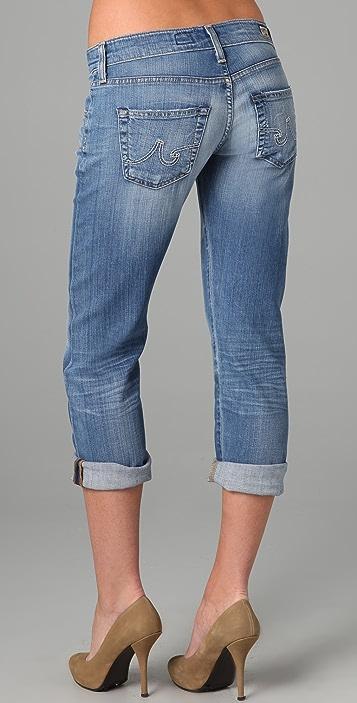 AG Ex Boyfriend Cropped Jeans