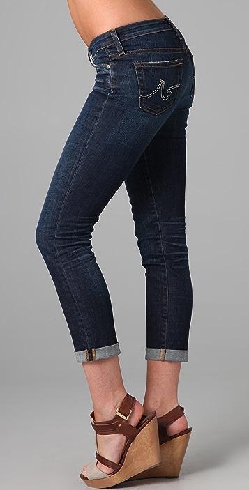 AG Stilt Roll Up Cigarette Jeans
