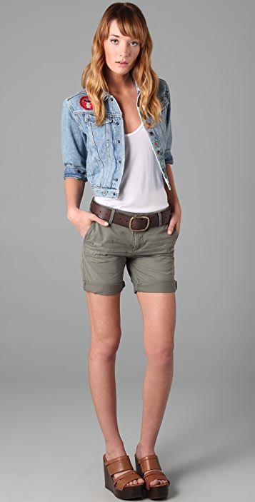 AG The Ex-Boyfriend Khaki Shorts