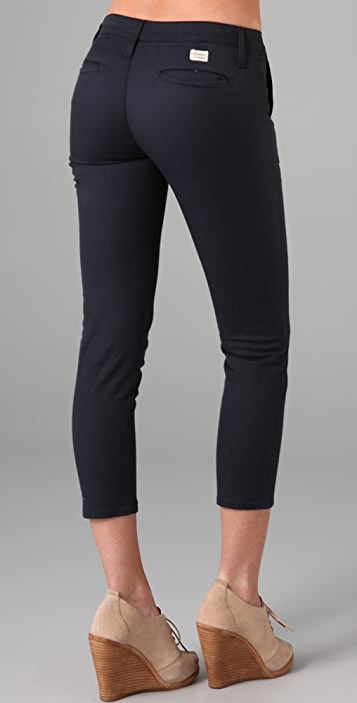 AG The Slim Khaki Crop Twill Pants