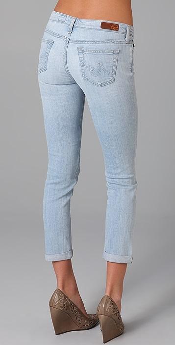 AG The Stilt Roll Up Cigarette Jeans