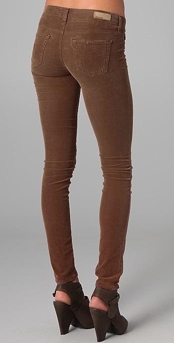 AG Super Skinny Corduroy Leggings