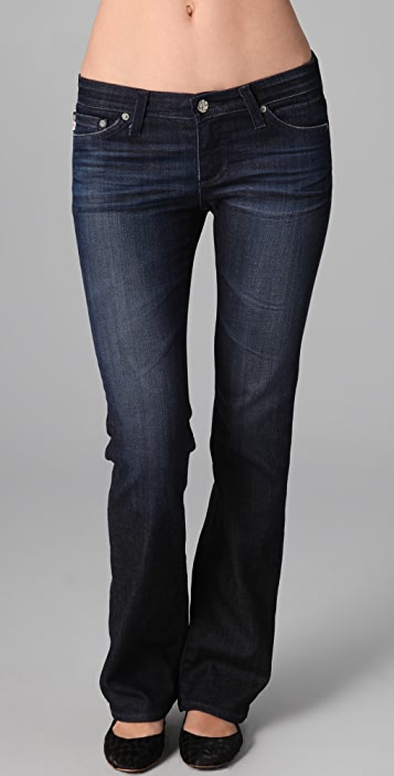 AG The Angelina Petite Boot Cut Jeans