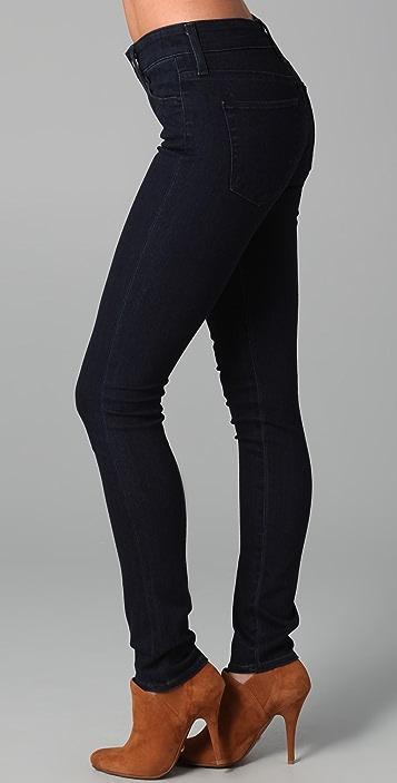 AG High Rise Skinny Jeans