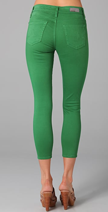 AG The Farrah Cropped Skinny Jeans