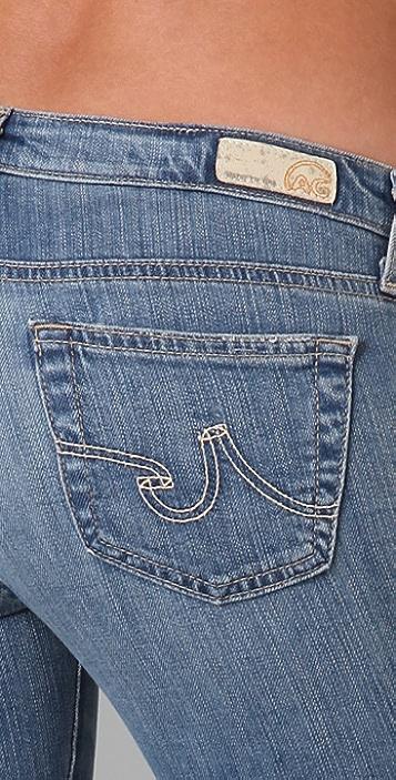 AG The Stilt Cropped Cigarette Jeans