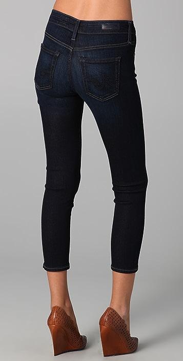 AG Farrah Skinny Crop Jeans
