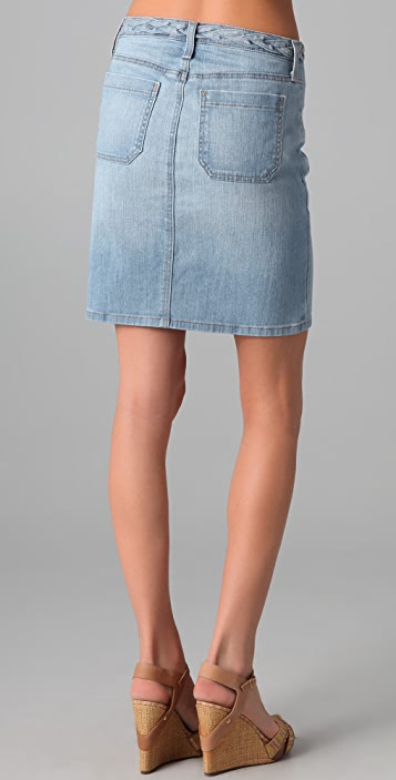 AG Lula A-Line Denim Skirt