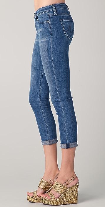AG Stilt Roll Up Jeans
