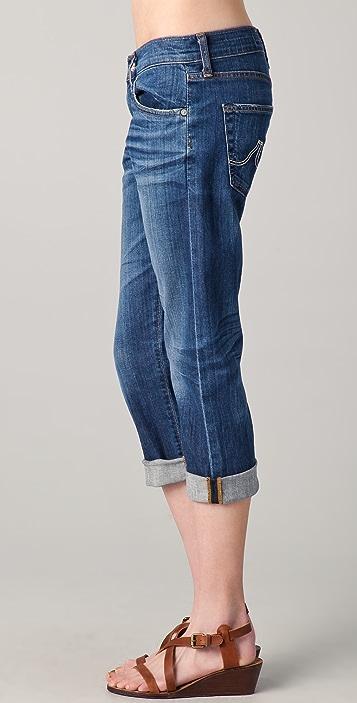 AG Ex-Boyfriend Crop Jeans