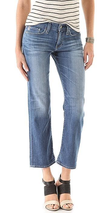 AG Camden Wide Leg Ankle Jeans