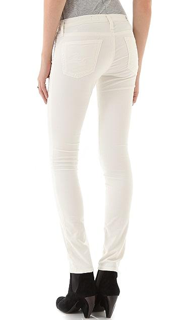 AG Super Skinny Velvet Pants