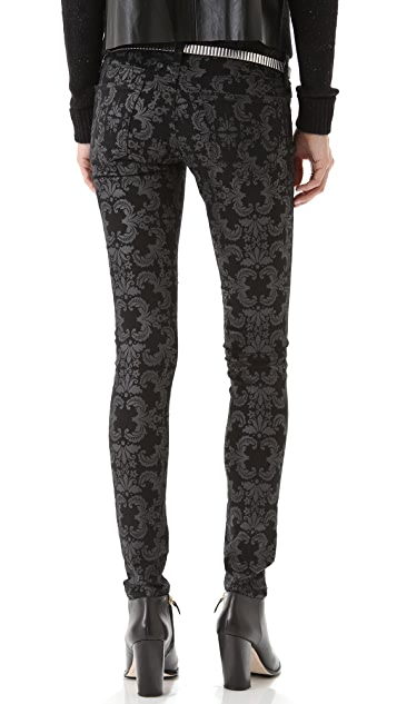 AG Super Skinny Coated Legging Jeans