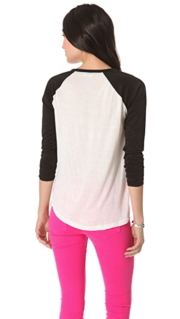AG Contrast Baseball Top