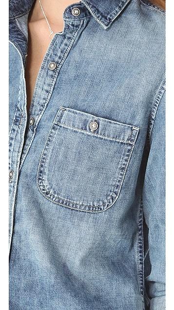 AG Collette Basic Button Shirt