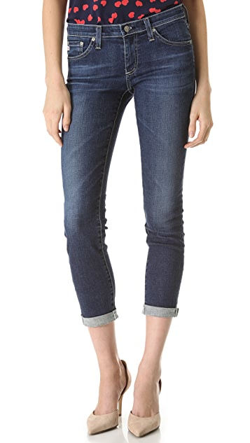 AG The Stilt Roll Up Jeans