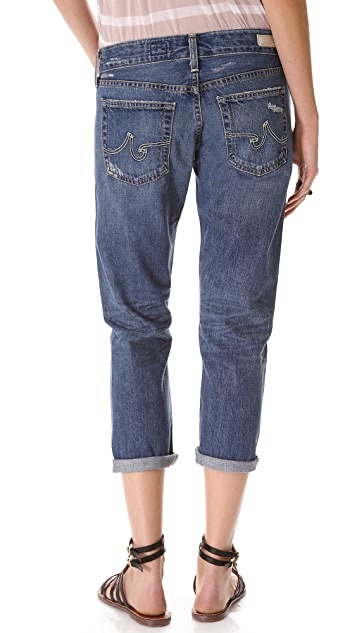 AG Piper Slouchy Slim Crop Jeans