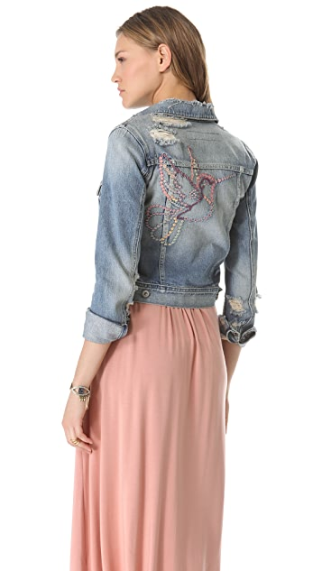 AG Cher Coulter for AG '50s Denim Jacket