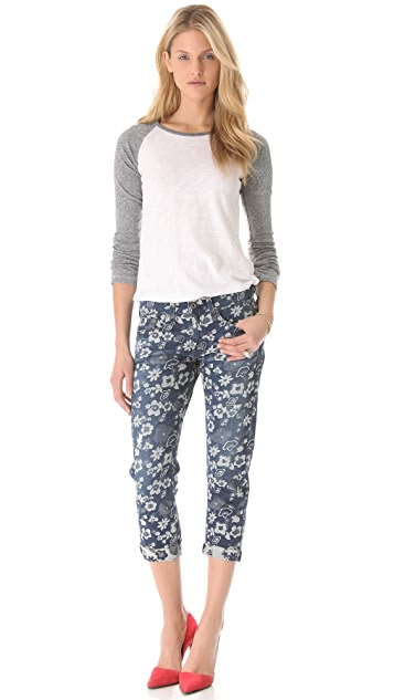 AG Cher Coulter for AG The Piper Cropped Jeans