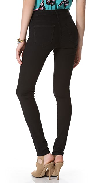 AG The Middi Mid Rise Legging Jeans