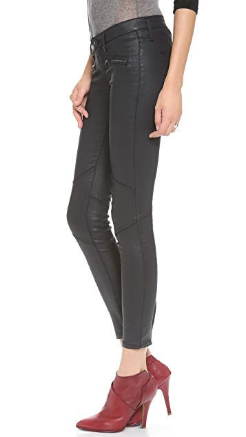 AG The Moto Zipper Legging Jeans