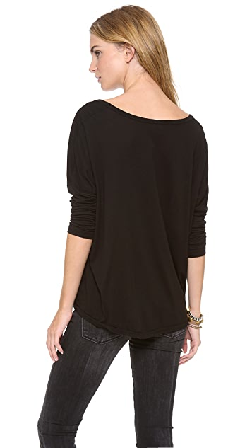AG Boxy Scoop Tee