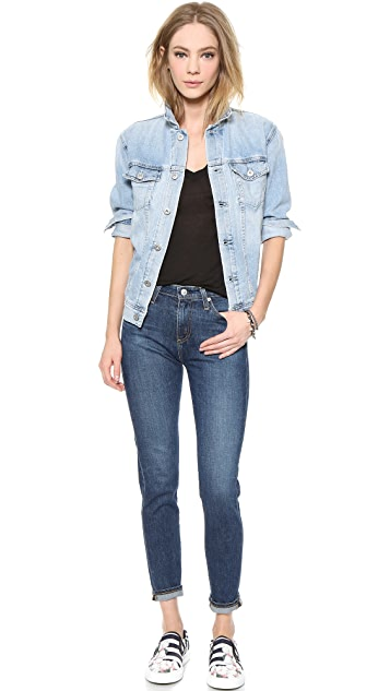 AG Nancy Oversized Denim Jacket