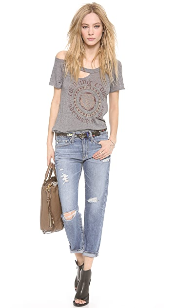 AG The Drew Straight Leg Boyfriend Jeans