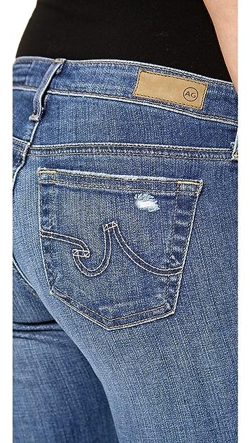 AG The Stilt Cigarette Roll Up Jeans