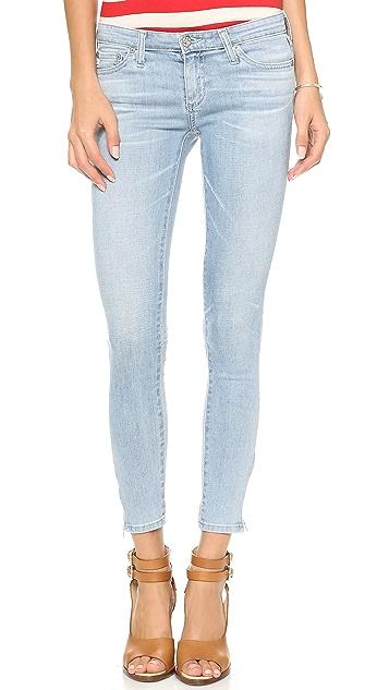AG Zip Ankle Legging Jeans