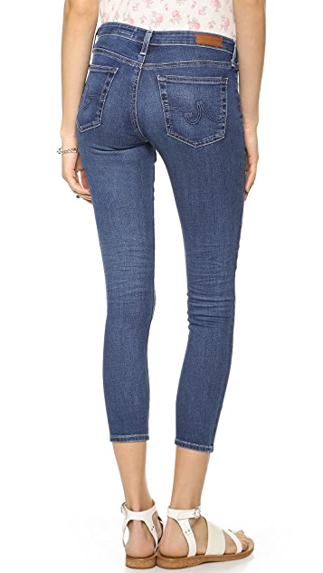 AG The Middi Ankle Skinny Jeans