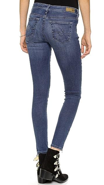 AG Zip Up Legging Ankle Skinny Jean