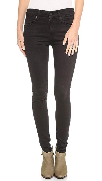 AG The Farrah High Rise Skinny Jeans