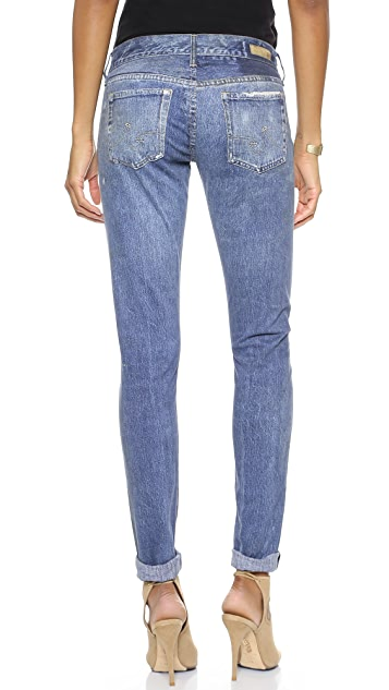 AG Nikki Digital Luxe Relaxed Skinny Pants