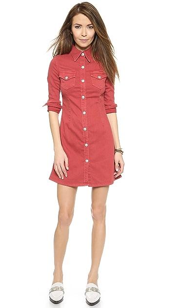 cb3acdc37e AG Alexa Chung x AG Pixie Shirt Dress