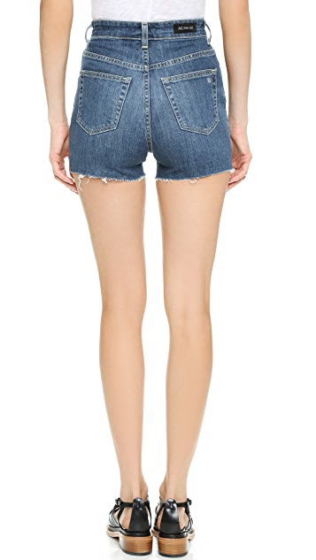 AG Alexa Chung x AG Fifi High Waisted Shorts