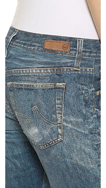 AG The Digital Luxe Ex-Boyfriend Slouchy Slim Jeans