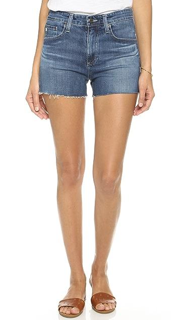 AG The Sadie High Rise Shorts
