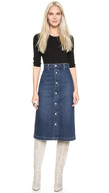 AG Alexa Chung x AG Cool Skirt