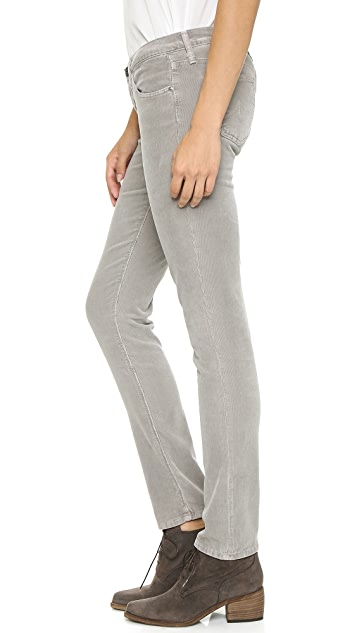 AG The Stilt Cigarette Corduroy Pants