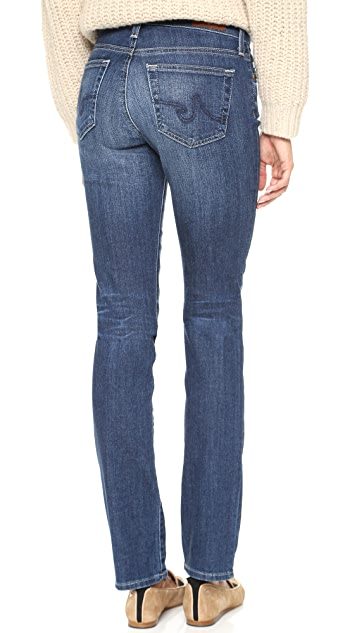 AG The Harper Essential Straight Leg Jeans