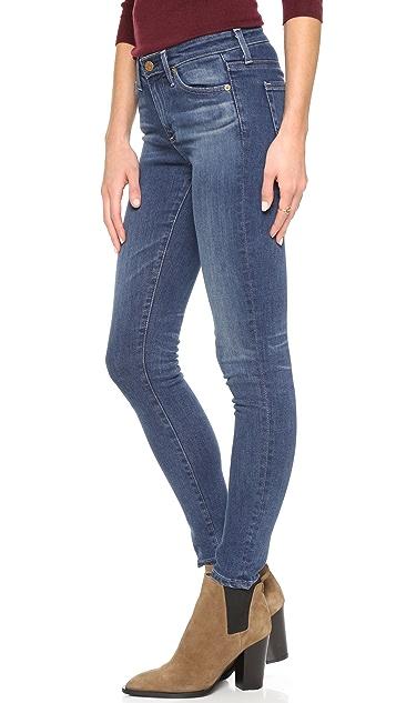 AG Midi Ankle Jeans