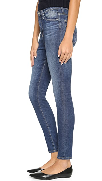 AG The Principle High Rise Legging Ankle Jeans