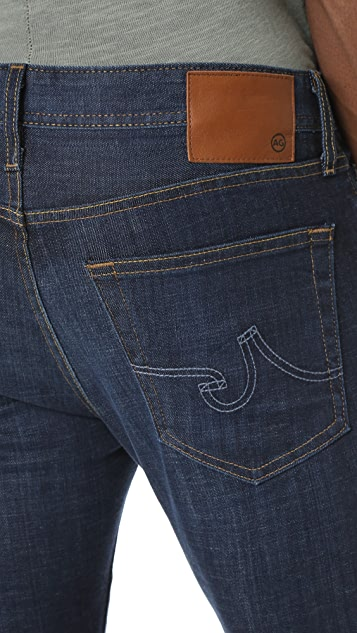 AG The Matchbox Slim Straight Jeans