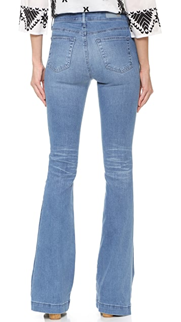 AG The Janis High Rise Flare Jeans