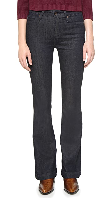 AG Petite Janis Flare Jeans