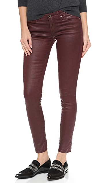 AG The Leatherette Legging Ankle Jeans